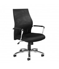 Offices to Go OTG11657B Mesh High-Back Managers Chair