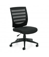 Offices to Go Armless Mesh Mid-Back Task Chair