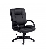 Offices to Go OTG2700 Luxhide Mid-Back Executive Office Chair - Shown in Black
