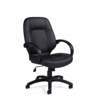 Offices to Go OTG2788 Luxhide High-Back Executive Office Chair - Shown in Black