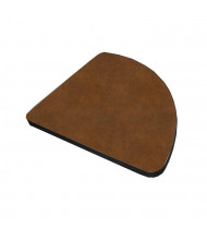 """Mayline Meeting Plus P9024HK 24"""" Pie Connector for Training Tables (Shown in Chestnut)"""