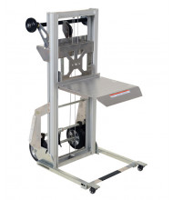 "Vestil PALL-200 Portable Aluminum Lightweight Lift 200 lb Load 17"" x 14"""