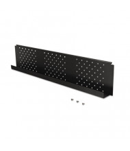 "Balt 66626 46.5"" Black Modesty Panel for 60"" Training Tables"
