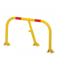 "Vestil 18"" H Reserved Private Steel Parking Hoops, Yellow PARK-P-38-S"