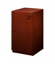 Mayline Luminary PBBF19 3-Drawer Box/Box/File Pedestal Cabinet for Credenza/Return (Shown in Cherry)