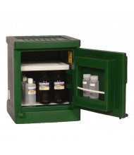 Eagle PEST-P04 Poly One Door Pesticides Safety Cabinet, 4 Gallons, Green