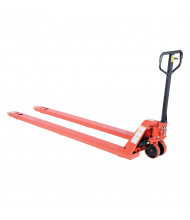 "Vestil Economical Full Featured Extra Long Forks 4000 lb Capacity Pallet Truck 27"" W x 96"" L"