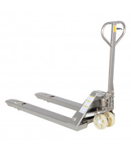Vestil PM5-2748-SFF Stainless Steel Corrosion Resistant Pallet Truck
