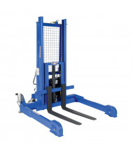 Vestil Powered Pallet Master Server and Skid Stacker 4000 lb Load (AC Model Shown)