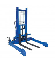 Vestil PMPS-50M Pallet Server 2500 lb Load Hydraulic Pallet Lift Stacker