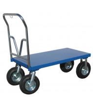 Vestil Pneumatic Tire Steel Platform Carts 1500 lb Load