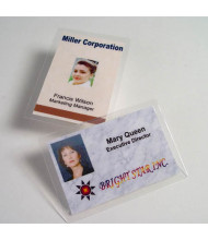 "Akiles 10 Mil Drivers License Size 2-3/8"" x 3-5/8"" Laminating Pouches (500 pcs)"