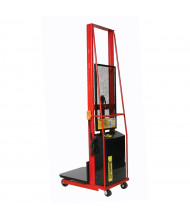 """Wesco Powered Lift 1000 lb Load 60"""" to 80"""" Lift Electric Platform Stackers"""