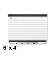 Quartet Prestige 2 DuraMax 6 x 4 Horizontal Lines Magnetic Dry Erase Planning Board