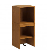"Office Connect by Bush Furniture Envoy 16"" W Hutch, Natural Cherry"