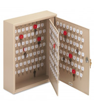 SteelMaster Dupli-Key 240 Key Two-Tag Hook Key Cabinet