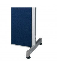 """OFM RiZe Room Divider Supports for 63"""" H Dividers (Example of Use)"""