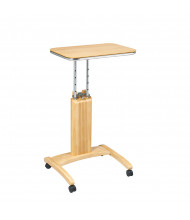 Office Star PSN621 Precision Laptop Stand in Maple Finish