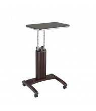 Office Star PSN623 Precision Laptop Stand in Mahogany Finish