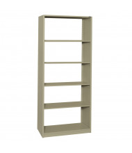 "Datum 5-Shelf 18"" D x 36"" W x 88"" H Open-Back Shelving Unit (Shown in Putty)"