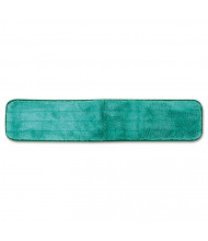 "Rubbermaid 24"" L Microfiber Dusting Pad, Green, Pack of 12"