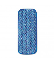 "Rubbermaid 13.75"" L Microfiber Mopping Pad, Blue, Pack of 6"