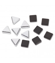 Quartet Metallic Magnet, 12 Pack