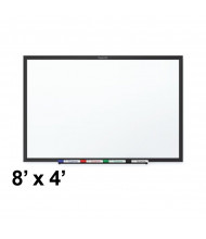 Quartet Classic Series 8 x 4 Black Frame Melamine Whiteboard