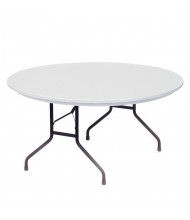 "Correll Heavy-Duty 60"" Round Folding Table (Shown in Granite)"