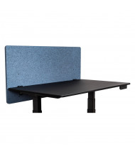 """Luxor RECLAIM 24"""" to 60"""" W Acoustic Fabric Desktop Privacy Panels"""
