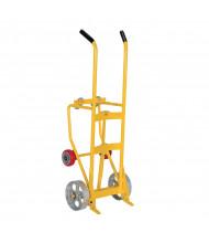 Vestil RDBT Multipurpose 55-Gallon Drum Trucks, 1000 lb Load (Shown with steel main wheels)
