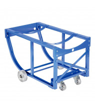 Vestil 800 lb Load Rotating Drum Cradle, Steel Wheels