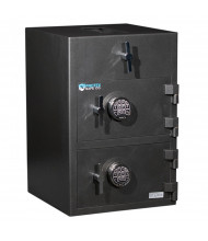 """Protex RDD-3020 3.6 cu. ft. """"B"""" Rated Top Loading Dual-Door Depository Safe"""