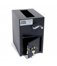 "FireKing RH13K Keylock 0.37 cu. ft. ""B"" Rated Rotary Drop Safe"