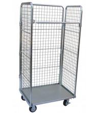 Vestil ROL Foldable Roller Steel Containers (ROL-120)