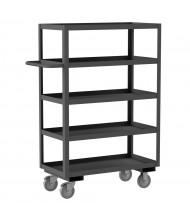 Durham Steel 5-Shelf 1200 lb Load Stock Cart