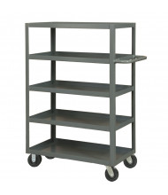 Durham Steel 5-Shelf 3000 lb Load Stock Cart