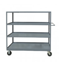 Durham Steel 4-Shelf 3000 lb Load Stock Cart