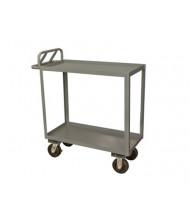 Durham Steel 2-Shelf 1200-3600 lb Load Stock Cart (phenolic casters)