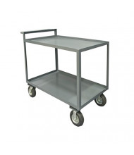 Durham Steel 2-Shelf 1500 lb Load Stock Cart with All Lips Up