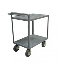 Durham Steel 2-Shelf 1500 lb Load Stock Cart with All Lips Down
