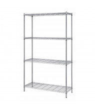 "Quantum Storage 4-Shelf 72"" H Wire Shelving Units"