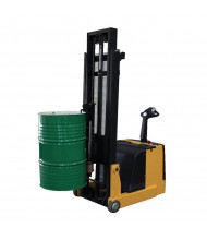"Vestil 1000 lb Load 62"" H Fully Powered Single Grip Counter Balanced Drum Handler"