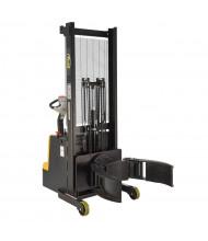 """Vestil 800 lb Load 64"""" H Fully Powered Lift Carrier/Rotator Drum Handler"""