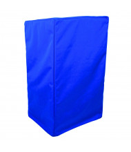 "Amplivox 46 "" H x 27"" W x 26"" D Protective Lectern Cover, Royal Blue"