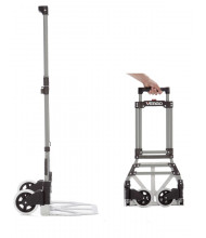 Vergo Industrial Personal Folding Hand Truck, 150 lbs Capacity
