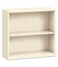 HON Brigade S30ABCL 2-Shelf Metal Bookcase in Putty