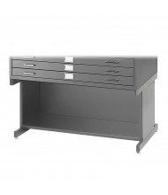 "Safco 4975 Open Base 20"" H for Safco 4994 Flat File(Shown in Grey)"
