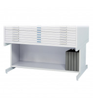 "Safco 4977 Open Base 20"" H for Safco 4986 & 4996 Flat File(Shown in White)"