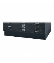 "Safco 4995 6"" H Closed Base for Safco 4994 Flat File(Shown in Black)"